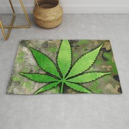Weed Leaf Rug