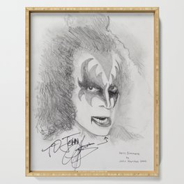 Gene Simmons Serving Tray