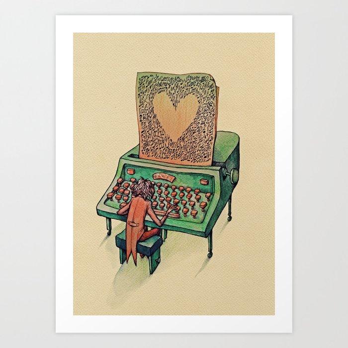 Valentine's day Kunstdrucke