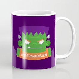 Frankenstein's Monster is NOT Frakenstein Halloween Coffee Mug