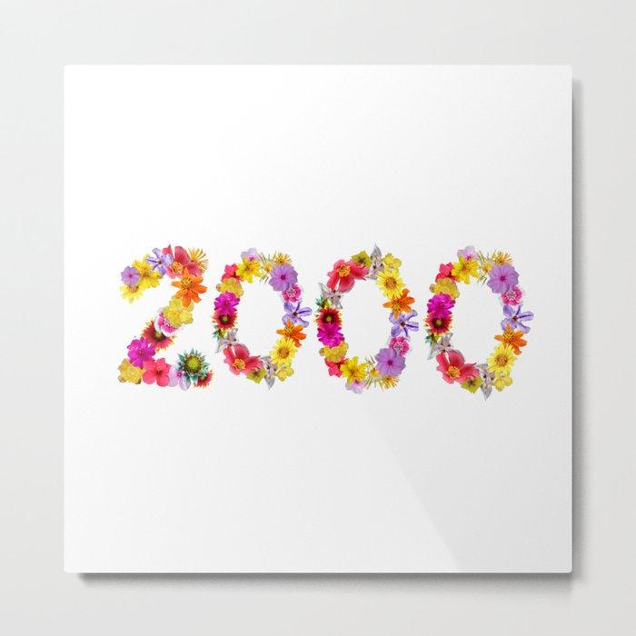 All Color Flower 2000 Metal Print