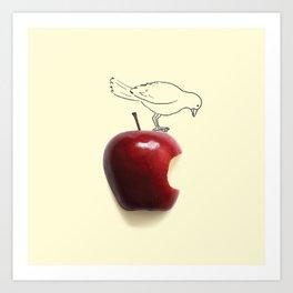 Apple - Bird Art Print