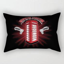Inspector Spacetime Rectangular Pillow