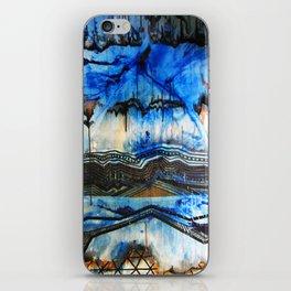 Blue Note Fire iPhone Skin