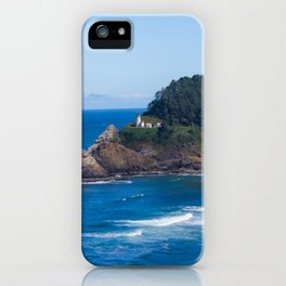From Far Away - Heceta Head Lighthouse iPhone Case