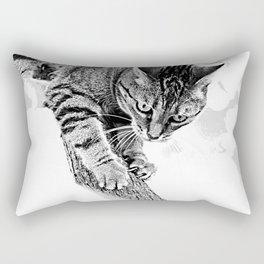Sharpen their claws Rectangular Pillow