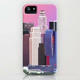 Los Angeles in Purple iPhone Case