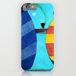 Wassily Kandinsky Both Striped iPhone Case