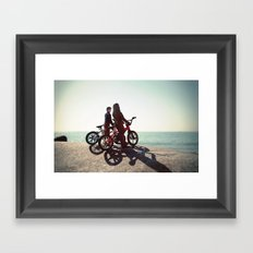 Chewy and Han Framed Art Print