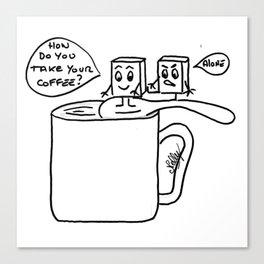 Coffee mood Canvas Print