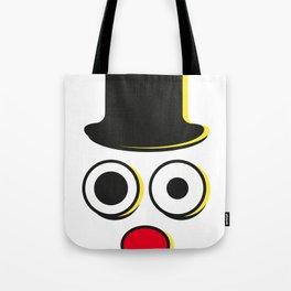Clown Freiheit Tote Bag