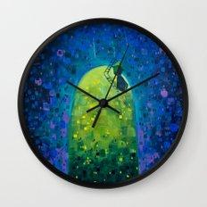 Oasis in the Urban Jungle Wall Clock