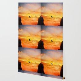 sunset balance Wallpaper