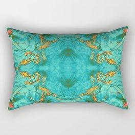 fire opal refraction Rectangular Pillow
