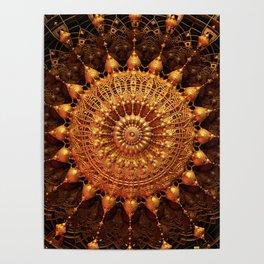Sun Spur - Raw 3D Fractal Poster