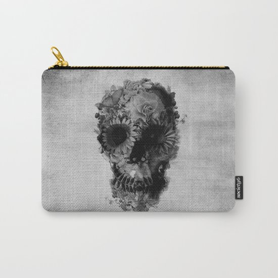Skull 2 / BW Carry-All Pouch