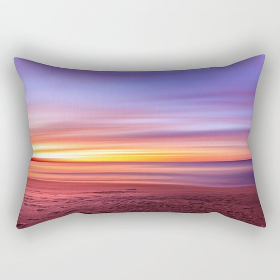 Colour sky beach Rectangular Pillow