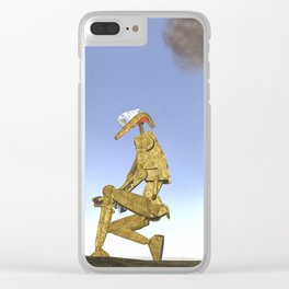 War Stars: Pew Pew Pew Clear iPhone Case
