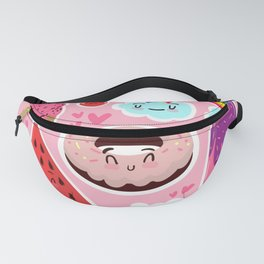 Cute food Fanny Pack