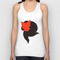 reading Tank Tops featuring reading by larvae