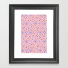 luv burst Framed Art Print