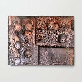 rustscape Metal Print