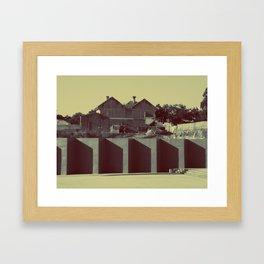 Museo de la memoria Framed Art Print