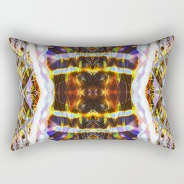 Light Dance Kaleidoscope Edit 1 Rectangular Pillow