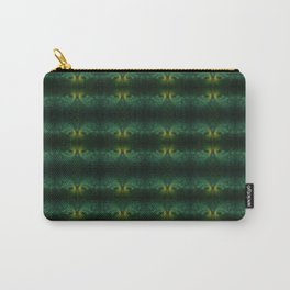Peacock Sunset Carry-All Pouch