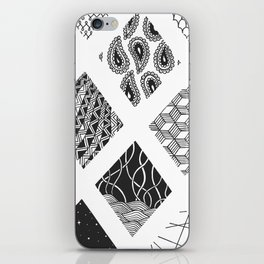 Diamond Zentangles iPhone Skin