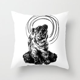 Spirit Animal Throw Pillow