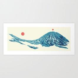 Return The Land Art Print