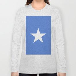 Somalia flag emblem Long Sleeve T-shirt