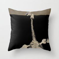 Digging for Fossils  Throw Pillow