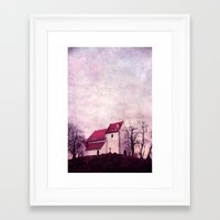 faith Framed Art Prints featuring faith by Claudia Drossert