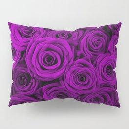 Purple roses Pillow Sham