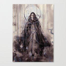 The Valiant Canvas Print
