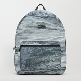 Staying Afloat in a World of Turmoil Backpack