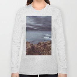 Sunset Cliffs Storm Long Sleeve T-shirt