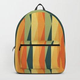 Vintage Triangle Stripes Backpack