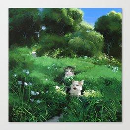 Internet Cats Canvas Print