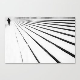 Keep on walking Canvas Print