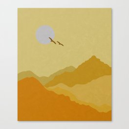 Shades of Desert Canvas Print