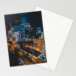 Ginza at Midnight Stationery Cards