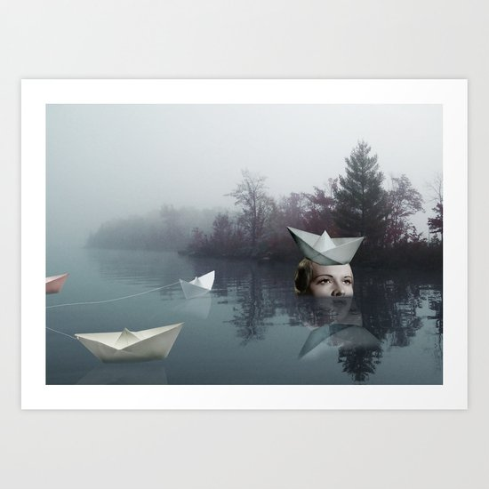 paperboats Art Print