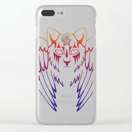 Starclan Warrior Clear iPhone Case