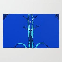 Blue Mantis Rug