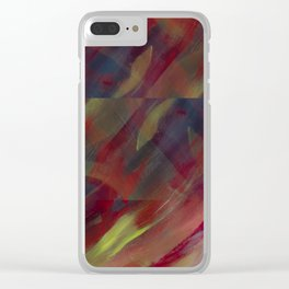 Fall is Fading Clear iPhone Case