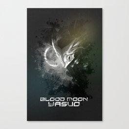 League of Legends Blood Moon Yasuo Canvas Print