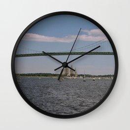 Newport Bridge - Newport, Rhode Island Wall Clock